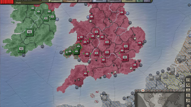Hearts of Iron III Collection Screenshot 1