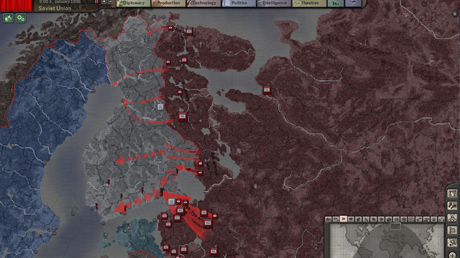 Hearts of Iron III Collection Screenshot 2