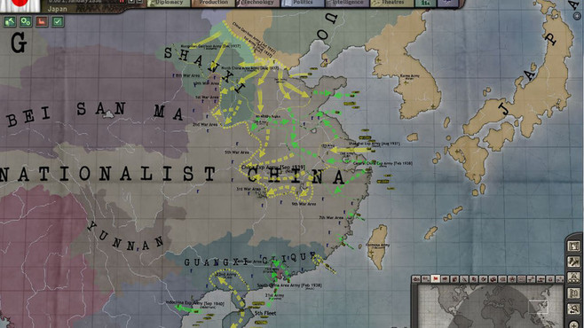 Hearts of Iron III Collection Screenshot 3