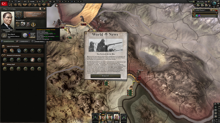 Hearts of Iron IV: Battle for the Bosporus Screenshot 5