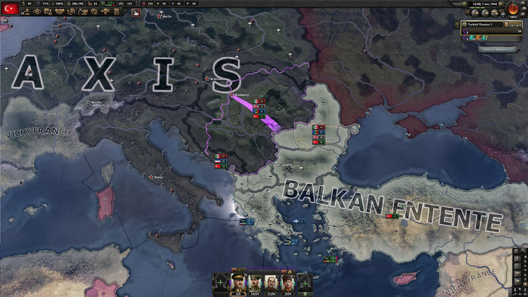 Hearts of Iron IV: Battle for the Bosporus Screenshot 7