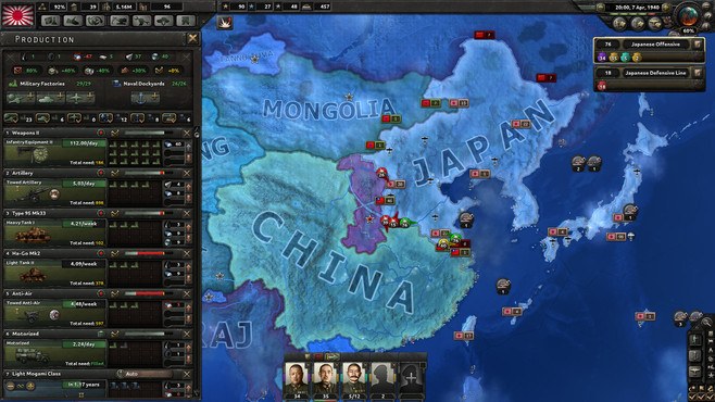Hearts of Iron IV: Colonel Edition Screenshot 5