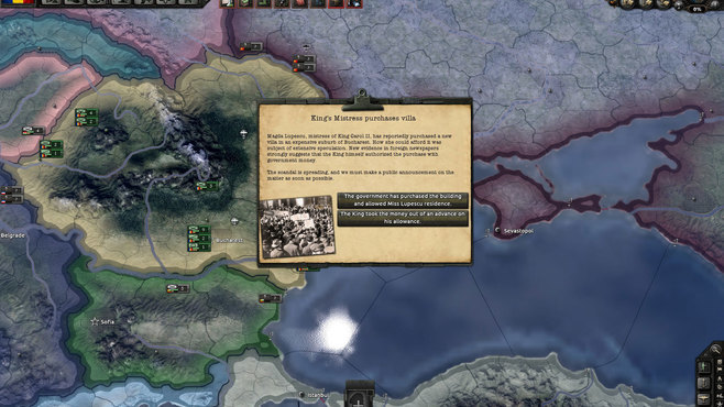Hearts of Iron IV: Death or Dishonor Screenshot 1