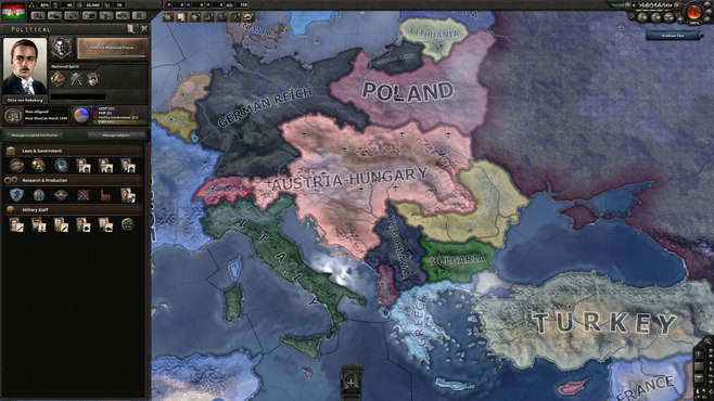 Hearts of Iron IV: Death or Dishonor Screenshot 2