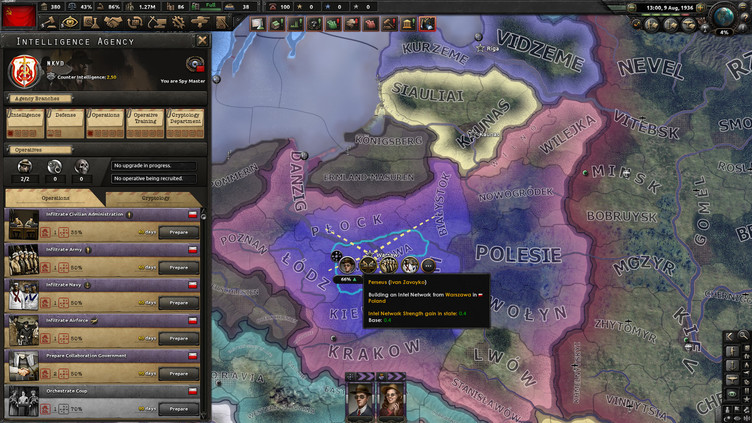 Hearts of Iron IV: La Résistance Screenshot 4