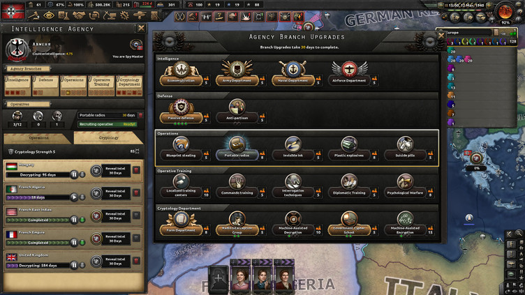 Hearts of Iron IV: La Résistance Screenshot 5