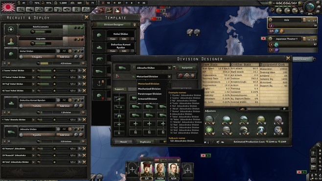 Hearts of Iron IV: Waking the Tiger Screenshot 3