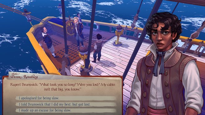 Herald: An Interactive Period Drama - Book I & II Screenshot 7