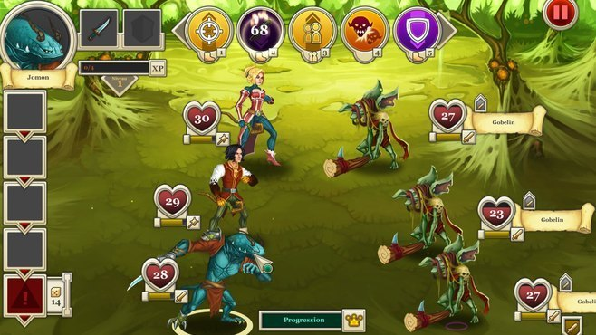 Heroes & Legends: Conquerors of Kolhar Screenshot 1