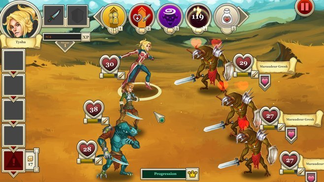 Heroes & Legends: Conquerors of Kolhar Screenshot 2
