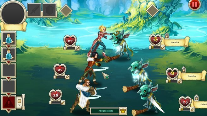 Heroes & Legends: Conquerors of Kolhar Screenshot 3