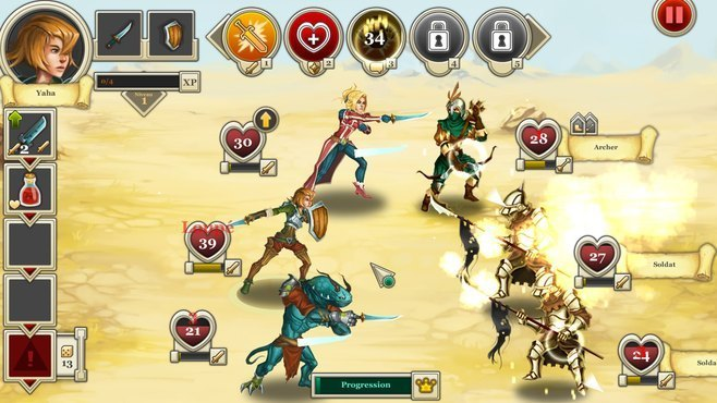 Heroes & Legends: Conquerors of Kolhar Screenshot 4