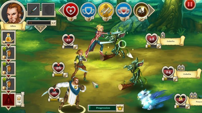 Heroes & Legends: Conquerors of Kolhar Screenshot 5