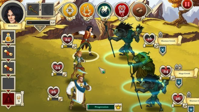 Heroes & Legends: Conquerors of Kolhar Screenshot 6