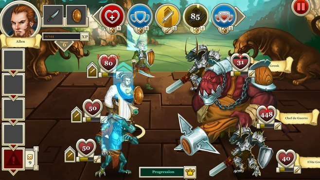 Heroes & Legends: Conquerors of Kolhar Screenshot 9