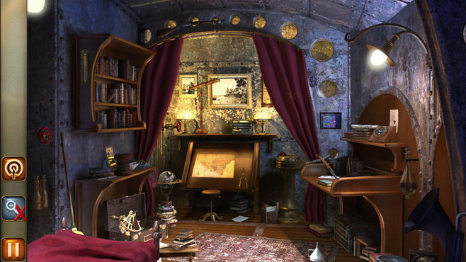 Hidden Objects - 2 in 1 - Jules Verne Pack Screenshot 10