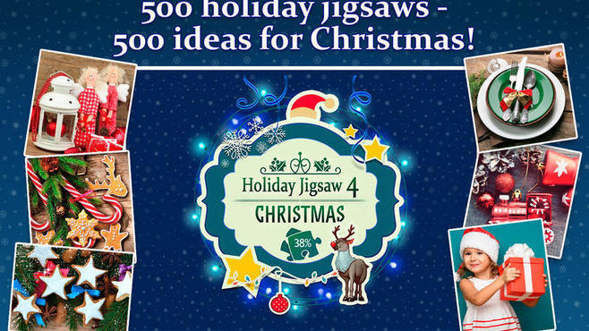 Holiday Jigsaw Chirstmas 4 Screenshot 1