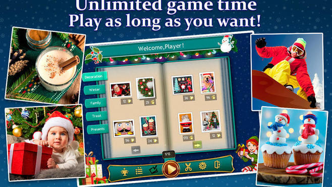 Holiday Jigsaw Chirstmas 4 Screenshot 2