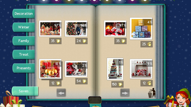 Holiday Jigsaw Chirstmas 4 Screenshot 8