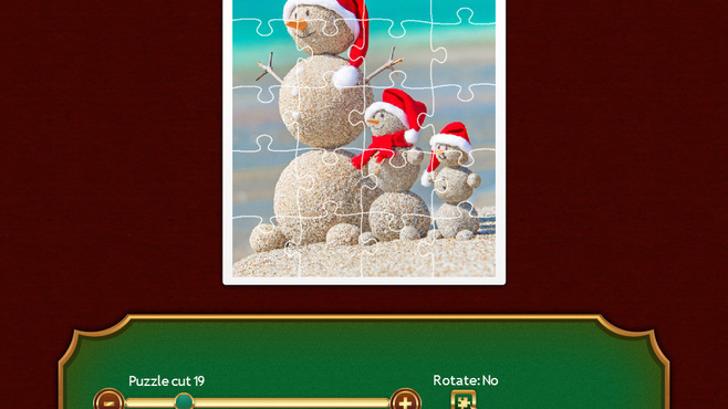 Holiday Jigsaw Christmas 2 Screenshot 1