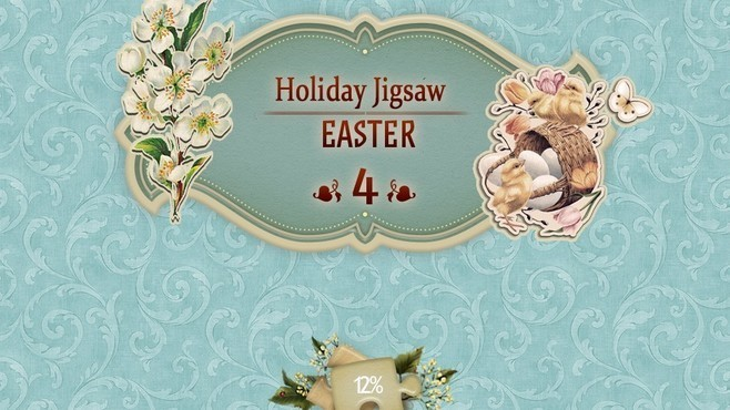Holiday Jigsaw Easter 4 Screenshot 1