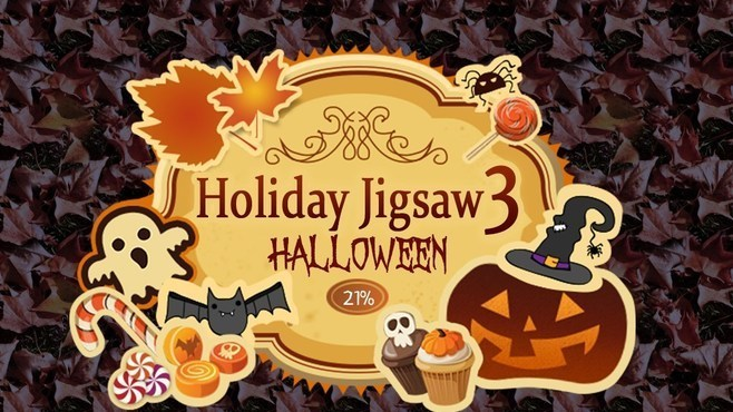 Holiday Jigsaw Halloween 3 Screenshot 1