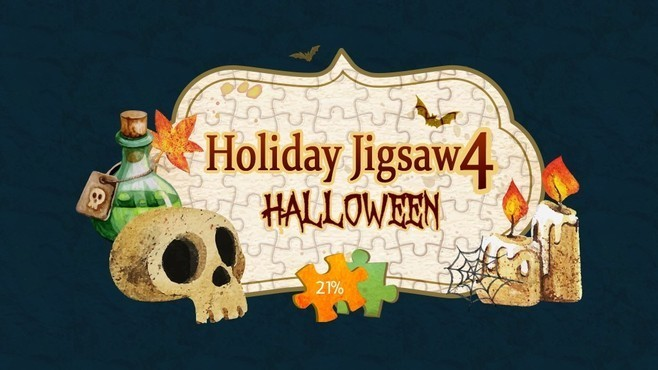 Holiday Jigsaw Halloween 4 Screenshot 1