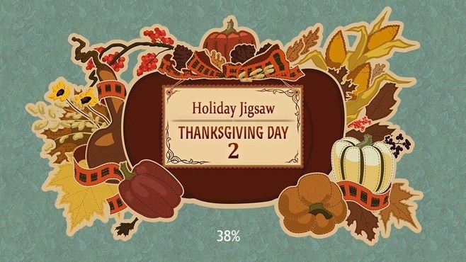 Holiday Jigsaw Thanksgiving Day 2 Screenshot 1