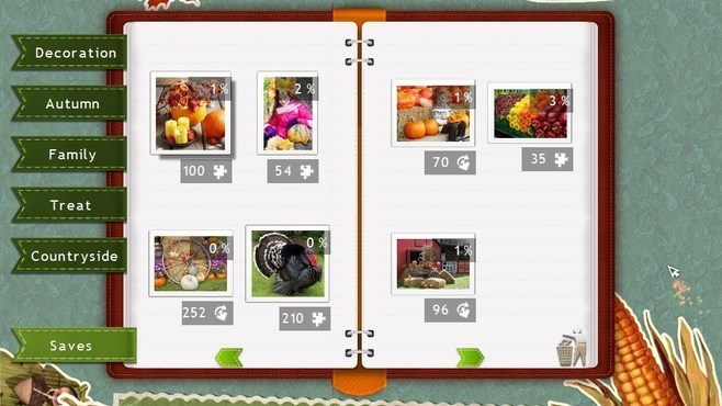 Holiday Jigsaw Thanksgiving Day 2 Screenshot 3