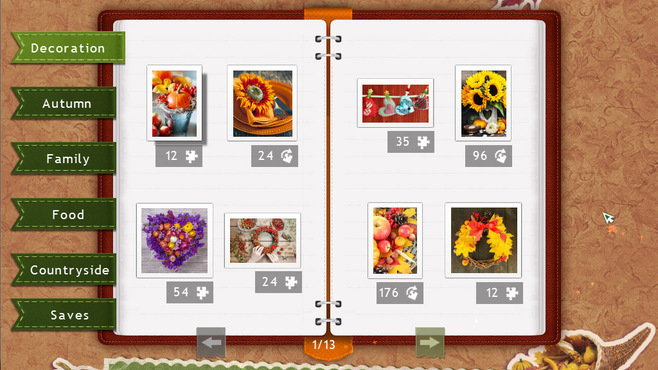 Holiday Jigsaw Thanksgiving Day Screenshot 3