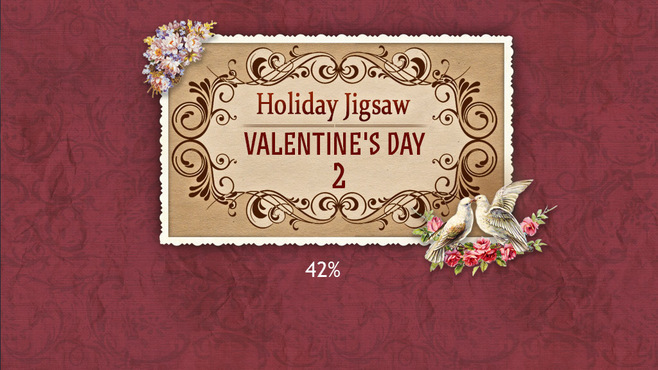 Holiday Jigsaw Valentine's Day 2 Screenshot 1
