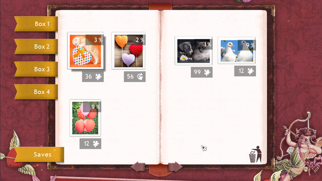 Holiday Jigsaw Valentine's Day 2 Screenshot 5