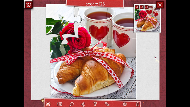 Holiday Jigsaw Valentine's Day Screenshot 3
