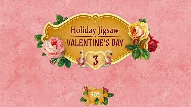 Holiday Jigsaw Valentine's Day 3 Screenshot 1