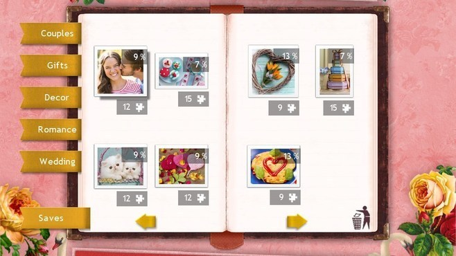Holiday Jigsaw Valentine's Day 3 Screenshot 2