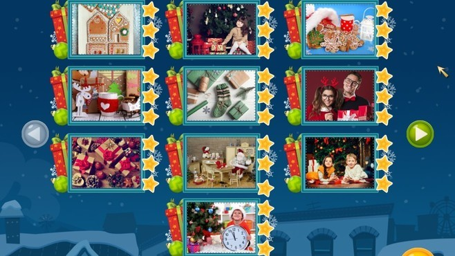Holiday Mosaics Christmas Puzzles Screenshot 7
