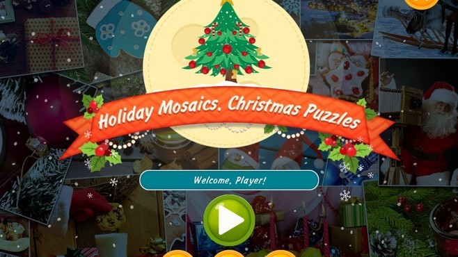 Holiday Mosaics Christmas Puzzles Screenshot 1