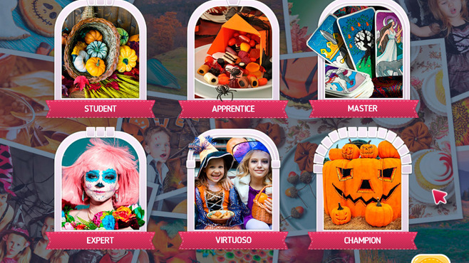 Holiday Mosaics Halloween Puzzles Screenshot 2