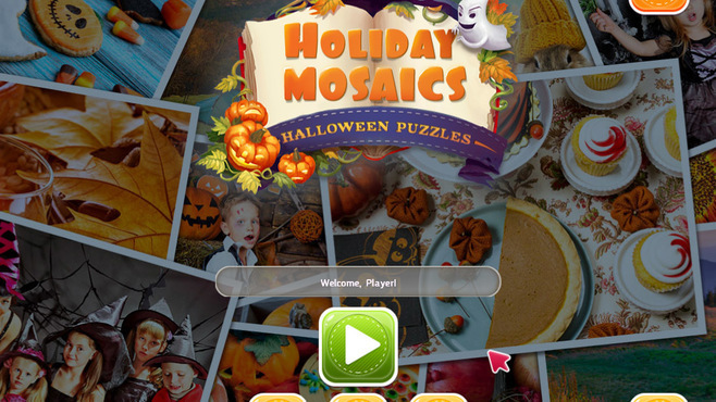 Holiday Mosaics Halloween Puzzles Screenshot 3