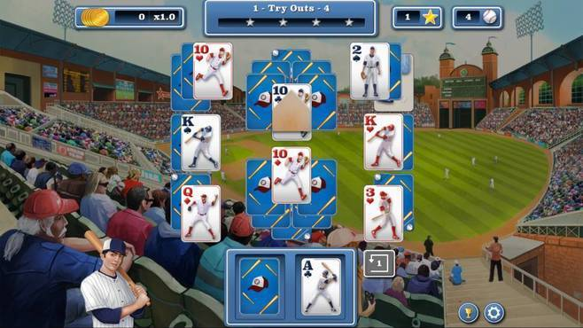 Home Run Solitaire Screenshot 2