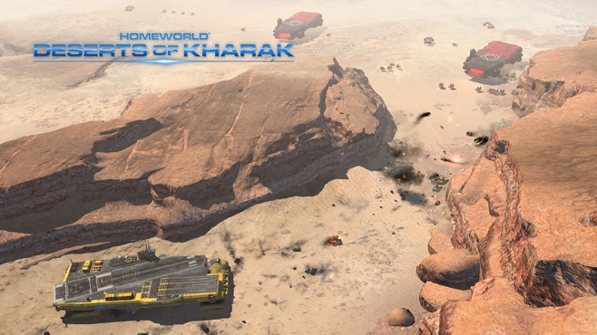 Homeworld Remastered Collection and Deserts of Kharak Bundle Screenshot 4