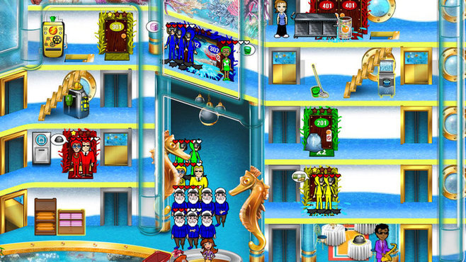 Hotel Dash 2: Lost Luxuries Screenshot 4