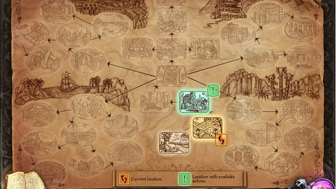 House of 1000 Doors: The Palm of Zoroaster Collector's Edition Screenshot 3