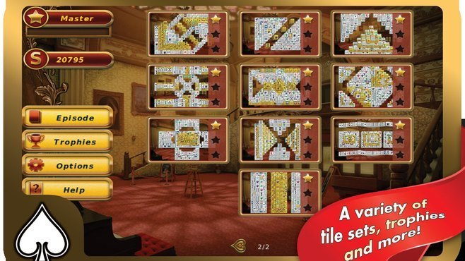 Hoyle Illusions Mahjongg Screenshot 1