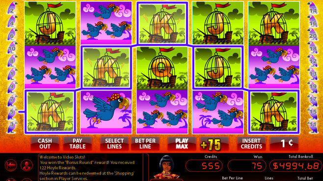 Hoyle Swashbucklin' Slots Screenshot 1