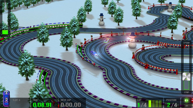 HTR+ Slot Car Simulation Screenshot 1