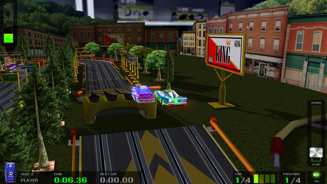 HTR+ Slot Car Simulation Screenshot 3