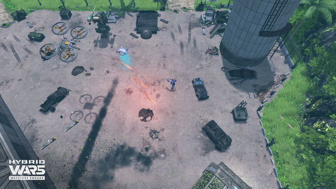Hybrid Wars Screenshot 16