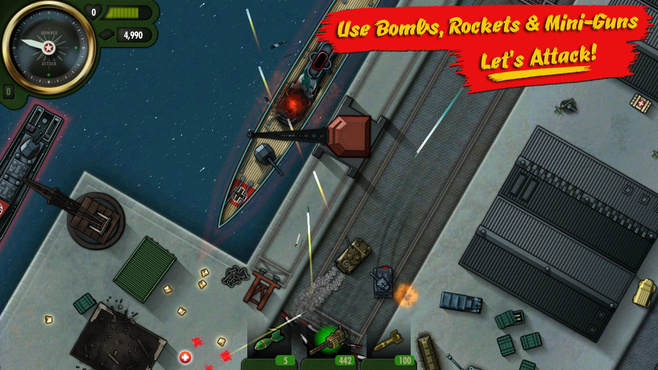 iBomber Attack Screenshot 1