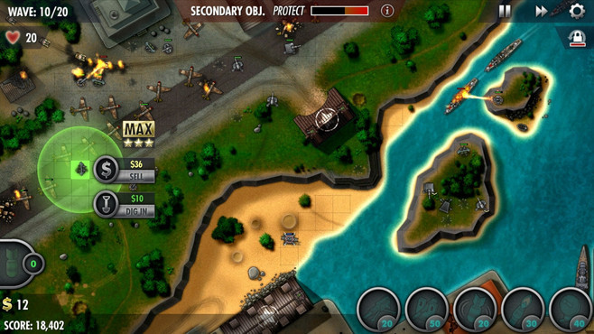 iBomber Defence Pacific Screenshot 10